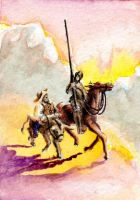 SOLD - Don Quixote by theperian