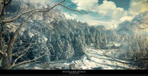 Highland Ridge by tigaer