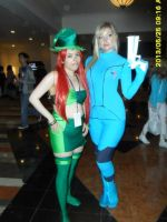 Betilla + Samus by SexySonadow