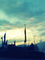 Skys flagz.. by Pramin