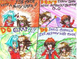 DSI-GXTAS- Fangirls Dos+Donts by ManaDarkMagicianGirl
