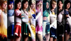 Sailor Moon - The Senshi by DarkMoonProject