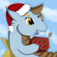 [T] Chibi Christmas Cookies Messenger by Pagels