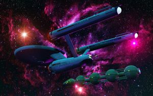 USS Enterprise Series by NIMArchitect
