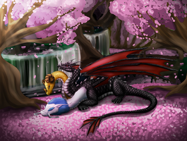 Commission - Spring Hydra by Cryophase