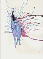 And then the unicorn appeared by AnoukvanderMeer