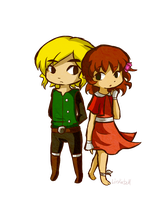 James and Natalie -KP- by Linkerbell
