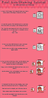 Pixel Icon/Drawing Tutorial by LittleArtDemon