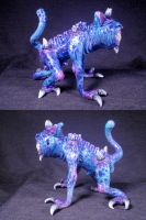 Imp Demon Familiar Converted Glass Pipe 4 by Undead-Art
