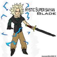 Mystic SSJ Blade by true-redemption88