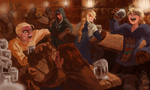 Final Fantasy Tactics - Sometime along the journey by Skence