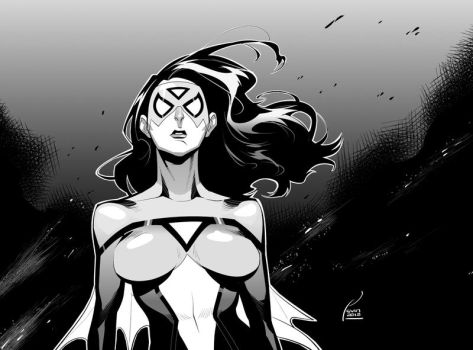 Spider-woman by kevinTUT