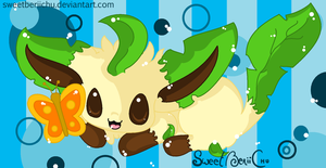I BE A LEAFEON: BUTTAFLAH by SweetBeriiChu