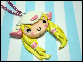 Chii Pantsu Necklace by GrandmaThunderpants