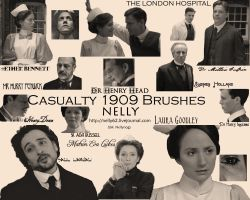 Casualty 1909 Brushes by Nellynog