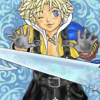 Chibi Tidus with Brotherhood by page-of-wands