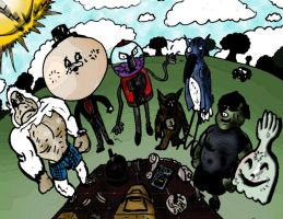 The Regular Show by DirtyColumbus