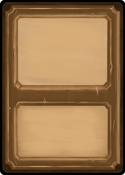 Playing cards template - Wooden front by Toomanypenguins