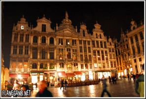 Grand Place, Brussels by Flanegan