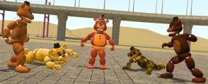 Battle of the Freddys by zoid162010