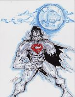 zombie superman for chad by charlessimpson
