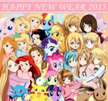 .: Happy New Year 2015 :.