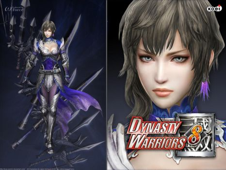 DW8 Wallpaper - Wang Yi by Koei-Warrior