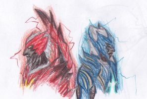 Dante and Vergil new DT forms by The-Blake-Man