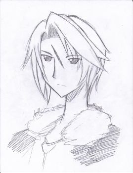 DooDle squall leonhart by whocares1814