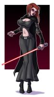 Dark Jedi Girl by berkheit
