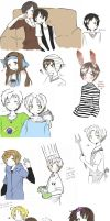 Latin hetalia sketches by Fuko-chan