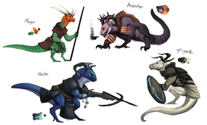 Dragon game classes by umbbe