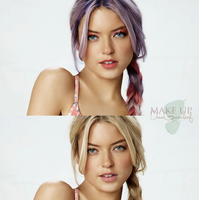 Retouch and Make Up by elenoriel