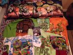 my 2012 tmnt collection by Z0MGedELR1C