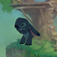 Stitch is thinking by CleverConflict