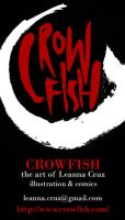 CROWFISH Business Card by Cruzle