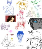 SKETCH DUMP TO CLEAR THE WAY by Idiot-Savante