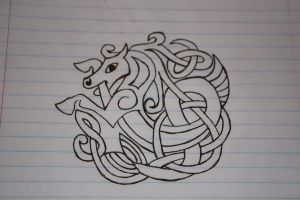 Celtic horse by Silvermoon23