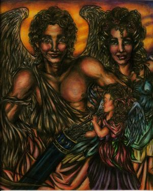 Happy Family of Greek Mytholog