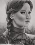 The mockingjay (Drawing) by EduardoCopati