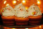 Vanilla Orange Cupcakes w/ Marshmallow Meringue by asainemuri