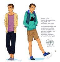 Silas Character Bio by Rhaylee