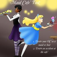 Maid Cafe' Task poster- MH by BishiLover16