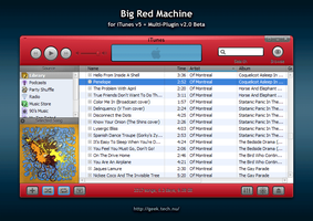 Big Red Machine for iTunes 5 by geektechnu