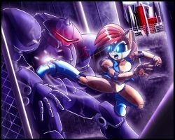 Sonic SATAM: Stormy battle by zeiram0034