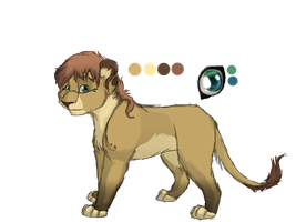 Lioness Design by Iva-Inkling