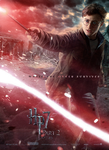 Deathly Hallows Poster- Harry by hobo95