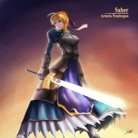 Servant Saber by kdashrlz