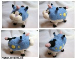 KH3d: Wonder Nyan/ Wonder Meow needlefelt by Swadloon