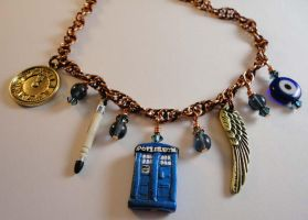 Doctor Who Steampunk Necklace by Krystalchains
